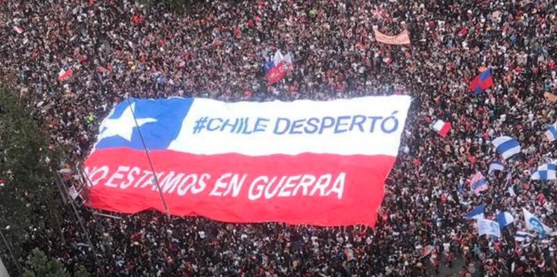 global protests Chile Ecuador Lebanon